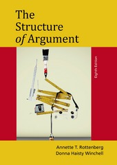 The Structure of Argument 8th Edition 9781457662355 1457662353
