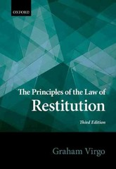 Principles of the Law of Restitution 3rd Edition 9780198726388 0198726384