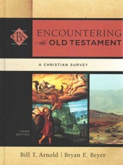 Encountering the Old Testament 3rd Edition 9780801049538 0801049539