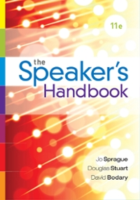 The Speaker's Handbook 11th Edition 9781305537514 1305537513