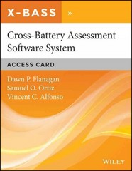 Cross-Battery Assessment Software System (X-BASS) Access Card 1st Edition 9781119056393 111905639X