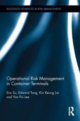 Operational Risk Management in Container Terminals 1st Edition 9781138782747 1138782742