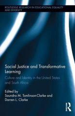 Social Justice and Transformative Learning 1st Edition 9781317577911 1317577914