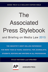 The Associated Press Stylebook 2015 46th Edition 9780465062942 0465062946