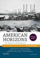American Horizons 2nd Edition 9780199389339 0199389330