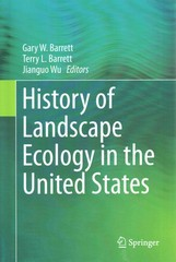 History of Landscape Ecology in the United States 1st Edition 9781493922758 1493922750