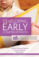 Developing Early Comprehension 1st Edition 9781598570342 159857034X