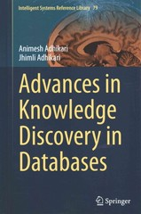 Advances in Knowledge Discovery in Databases 1st Edition 9783319132112 3319132113