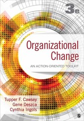 Organizational Change 3rd Edition 9781483359304 1483359301