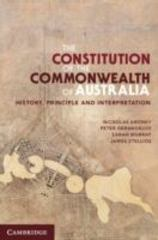 The Constitution of the Commonwealth of Australia 1st Edition 9780521759182 0521759188