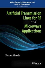 Artificial Transmission Lines for RF and Microwave Applications 1st Edition 9781118487600 1118487605