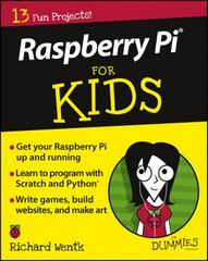 Raspberry Pi For Kids For Dummies 1st Edition 9781119049517 1119049512