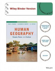 Human Geography 11th Edition 9781118995389 1118995384