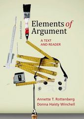 Elements of Argument 11th Edition 9781457691379 145769137X