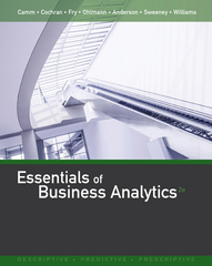 Essentials of Business Analytics 2nd Edition 9781305627734 1305627733