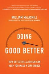 Doing Good Better 1st Edition 9781592409105 1592409105
