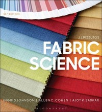 J.J. Pizzuto's Fabric Science 11th Edition 9781628926583 1628926589