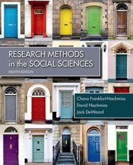 Research Methods in the Social Sciences 8th Edition 9781429233002 1429233001