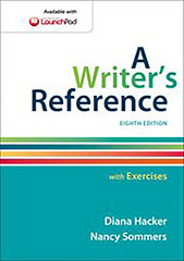 A Writer's Reference with Exercises 8th Edition 9781457698071 1457698072
