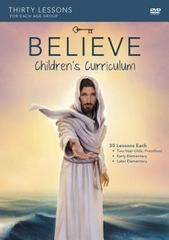 Believe Childrens Curriculum 1st Edition 9780310826385 0310826381