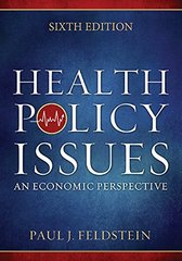 Health Policy Issues 6th Edition 9781567936964 1567936962
