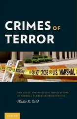 Crimes of Terror 1st Edition 9780199969494 0199969493
