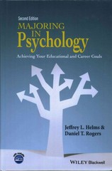 Majoring in Psychology 2nd Edition 9781118741023 1118741021