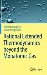 Rational Extended Thermodynamics 1st Edition 9783319133409 3319133403