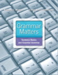 Grammar Matters Plus MyWritingLab with eText -- Access Card Package 1st Edition 9780134016801 0134016807