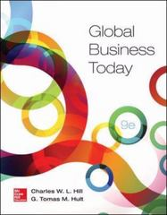 Global Business Today 9th Edition 9780078112911 0078112915