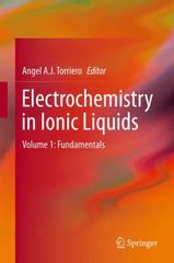 Electrochemistry in Ionic Liquids 1st Edition 9783319134857 331913485X