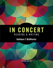 In Concert 2nd Edition 9780133946048 0133946045