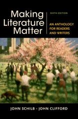 Making Literature Matter 6th Edition 9781457674150 1457674157