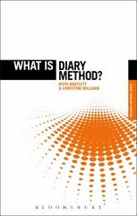 What is Diary Method 1st Edition 9781472572547 1472572548