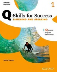 Q: Skills for Success 2E Listening and Speaking Level 1 Student Book 2nd Edition 9780194818407 0194818403