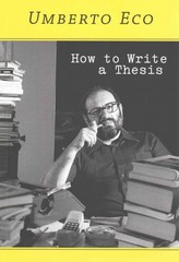 How to Write a Thesis 1st Edition 9780262527132 0262527138