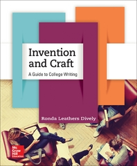 Invention and Craft 1st Edition 9781259401282 1259401286