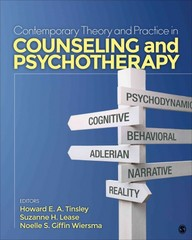 Contemporary Theory and Practice in Counseling and Psychotherapy 1st Edition 9781452286518 1452286515