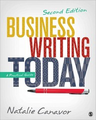 Business Writing Today 2nd Edition 9781483358666 1483358666
