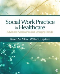 Social Work Practice in Healthcare 1st Edition 9781483353203 1483353206