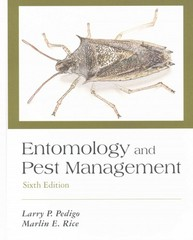 Entomology and Pest Management 6th Edition 9781478622857 1478622857