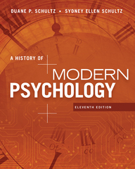 A History of Modern Psychology 11th Edition 9781305630048 1305630041