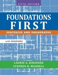 Foundations First with Readings 5th Edition 9781457633454 1457633450