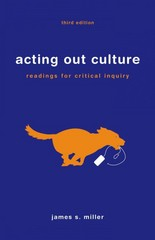 Acting Out Culture 3rd Edition 9781457640070 1457640074