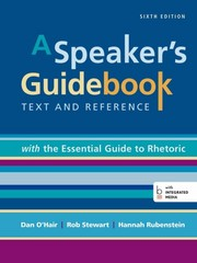 A Speaker's Guidebook with The Essential Guide to Rhetoric 6th Edition 9781457689802 1457689804