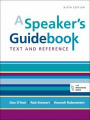 A Speaker's Guidebook 6th Edition 9781457663536 1457663538