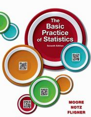 The Basic Practice of Statistics 7th Edition 9781464142536 146414253X