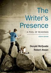 The Writer's Presence 8th Edition 9781457664465 1457664461