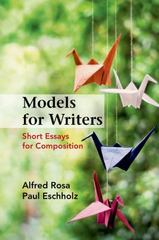 Models for Writers 12th Edition 9781457685965 1457685965