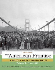 The American Promise, Volume 2 6th Edition 9781457668395 1457668394